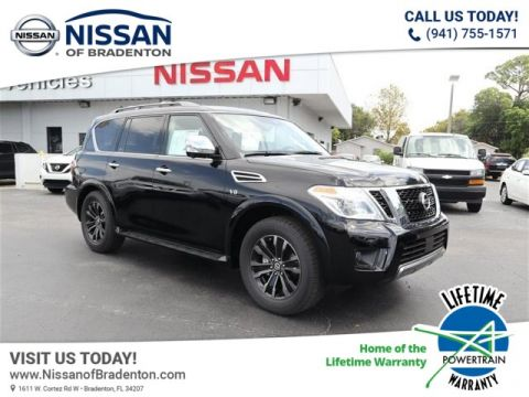 New 2020 Nissan Armada Platinum With Navigation