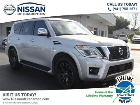 Pre-Owned 2019 Nissan Armada Platinum With Navigation