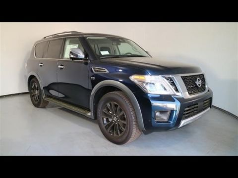 New 2018 Nissan Armada Platinum With Navigation