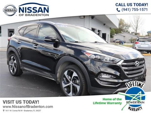 Pre-Owned 2016 Hyundai Tucson Limited With Navigation