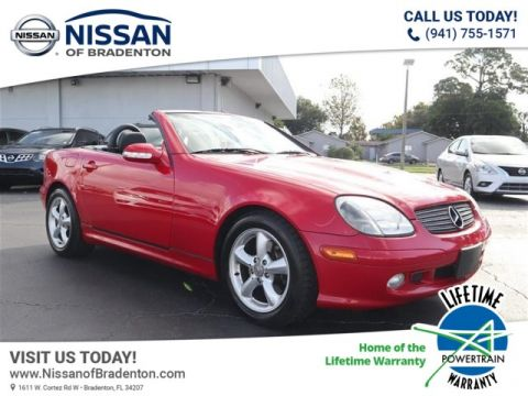 Pre-Owned 2001 Mercedes-Benz SLK320 SLK 320